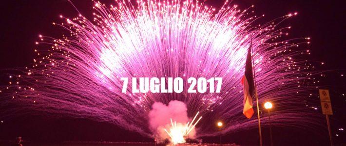 Venerdì 7 Luglio: Notte Rosa 2017