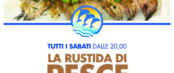 (Italiano) TUTTI I SABATI LA RUSTIDA DI PESCE AZZURRO